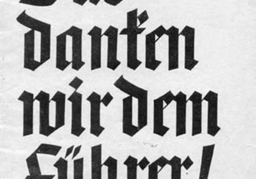 36cd4d1cd1b5242a16b13790f450a13c.png NS-Broschüre, 1938 (DÖW Bibliothek 4060/73) Nach dem Anschluss 1938