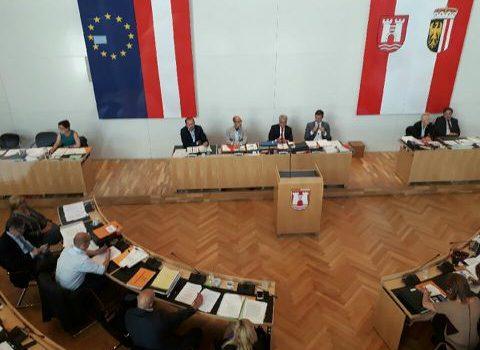 Gemeinderatssitzung Linz Andi Wahl live bei der Gemeinderatssitzung
