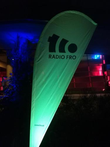 Klangwolke 2020 - Radio FRO Aussenstudio 24h live, in den Nachtstunden