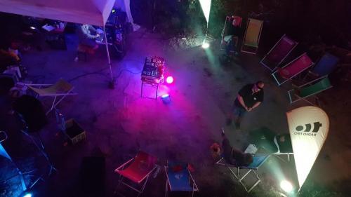 Klangwolke 2020 Live Performance Didi Bruckmayr