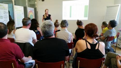 Lehrredaktion 2019, Vortrag Tamra Ehs