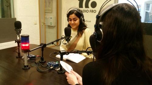 Lehrredaktion 2019, LIVE Diskussion, Mahatab Adriana Azarpay