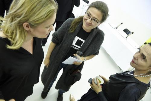 Corinna Milborn (Info-Direktorin Puls4, Ulli Weihs, Marlis Prinzing (Professorin für Medienwissenschaften und Journalistik)IMG 4307