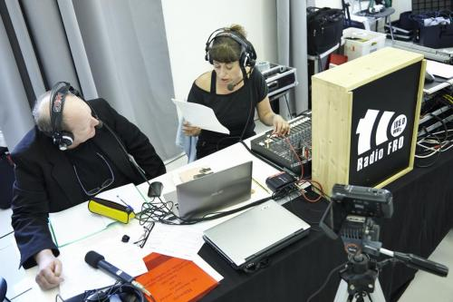 Johannes Mayerbrugger , Petra Moser (Radio FRO)IMG 4315