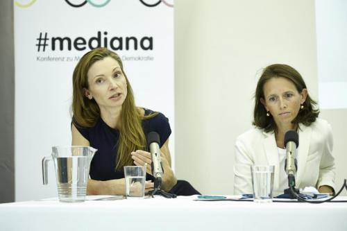 Susanne Fürst (Nationalratsabgeordnete FPÖ), Therese Niss (Nationalratsabgeordnete ÖVP)IMG 4461